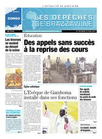 Les Dépêches de Brazzaville : Édition brazzaville du 23 avril 2013