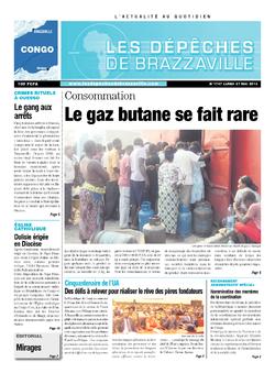 Les Dépêches de Brazzaville : Édition brazzaville du 27 mai 2013