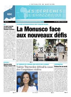 Les Dépêches de Brazzaville : Édition kinshasa du 30 mai 2013