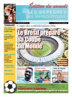 Les Dépêches de Brazzaville : Édition du 6e jour du 08 juin 2013