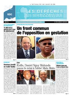 Les Dépêches de Brazzaville : Édition kinshasa du 27 juin 2013