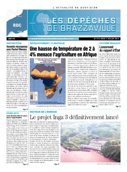 Les Dépêches de Brazzaville : Édition kinshasa du 04 juillet 2013