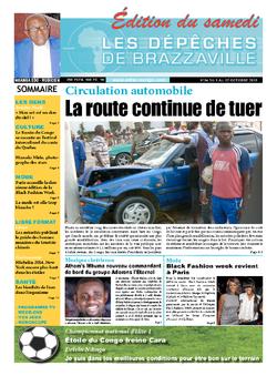Les Dépêches de Brazzaville : Édition du 6e jour du 05 octobre 2013