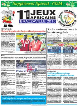 Les Dépèches de Brazzaville : Edition spéciale du 10 septembre 2015