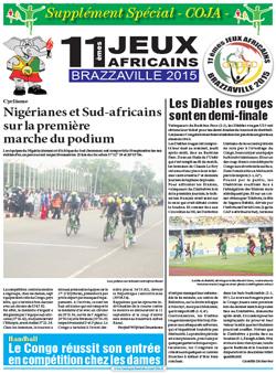 Les Dépèches de Brazzaville : Edition spéciale du 11 septembre 2015