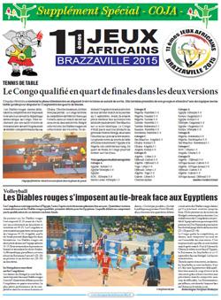 Les Dépèches de Brazzaville : Edition spéciale du 12 septembre 2015