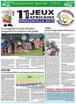 Les Dépèches de Brazzaville : Edition spéciale du 15 septembre 2015