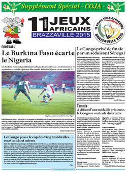 Les Dépèches de Brazzaville : Edition spéciale du 16 septembre 2015