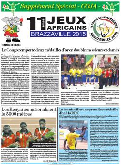 Les Dépèches de Brazzaville : Edition spéciale du 17 septembre 2015