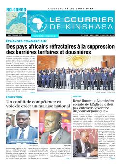 Les Dépêches de Brazzaville : Édition brazzaville du 31 janvier 2018