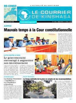 Les Dépêches de Brazzaville : Édition brazzaville du 11 avril 2018