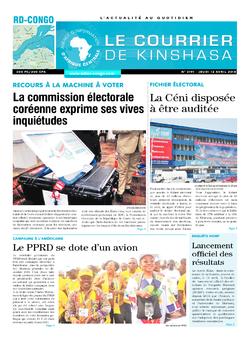 Les Dépêches de Brazzaville : Édition brazzaville du 12 avril 2018