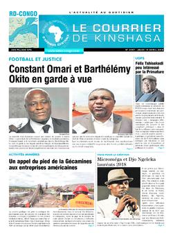 Les Dépêches de Brazzaville : Édition brazzaville du 20 avril 2018