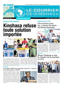 Les Dépêches de Brazzaville : Édition brazzaville du 29 mai 2018