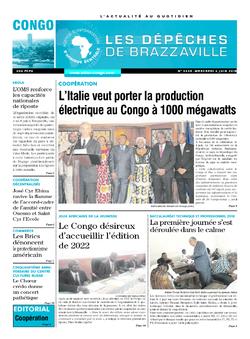 Les Dépêches de Brazzaville : Édition brazzaville du 06 juin 2018