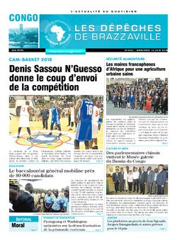 Les Dépêches de Brazzaville : Édition brazzaville du 13 juin 2018