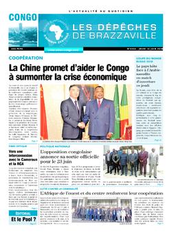 Les Dépêches de Brazzaville : Édition brazzaville du 14 juin 2018