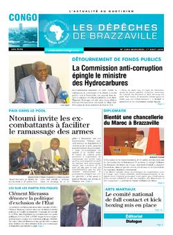 Les Dépêches de Brazzaville : Édition brazzaville du 01 août 2018