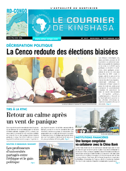 Les Dépêches de Brazzaville : Édition brazzaville du 12 septembre 2018