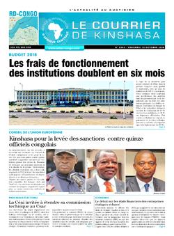 Les Dépêches de Brazzaville : Édition brazzaville du 12 octobre 2018