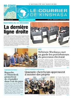 Les Dépêches de Brazzaville : Édition brazzaville du 05 décembre 2018