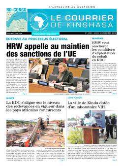 Les Dépêches de Brazzaville : Édition brazzaville du 06 décembre 2018