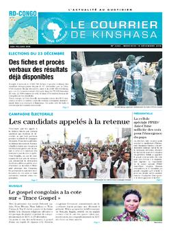 Les Dépêches de Brazzaville : Édition brazzaville du 19 décembre 2018