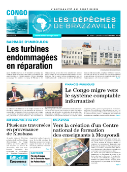 Les Dépêches de Brazzaville : Édition brazzaville du 20 décembre 2018