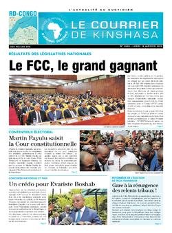 Les Dépêches de Brazzaville : Édition brazzaville du 14 janvier 2019