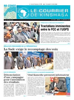 Les Dépêches de Brazzaville : Édition brazzaville du 15 janvier 2019