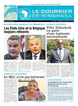 Les Dépêches de Brazzaville : Édition brazzaville du 23 janvier 2019