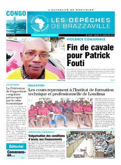 Les Dépêches de Brazzaville : Édition brazzaville du 31 janvier 2019