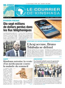 Les Dépêches de Brazzaville : Édition brazzaville du 05 février 2019