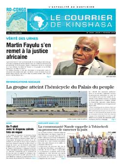 Les Dépêches de Brazzaville : Édition brazzaville du 07 février 2019