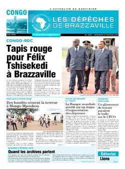 Les Dépêches de Brazzaville : Édition brazzaville du 08 février 2019