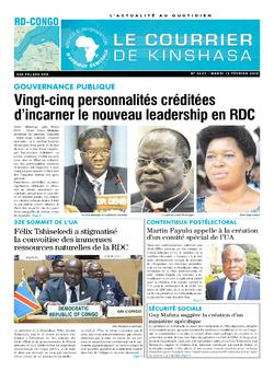 Les Dépêches de Brazzaville : Édition brazzaville du 12 février 2019