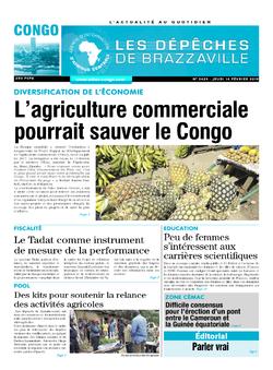 Les Dépêches de Brazzaville : Édition brazzaville du 14 février 2019