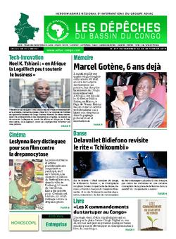 Les Dépêches de Brazzaville : Édition du 6e jour du 23 février 2019