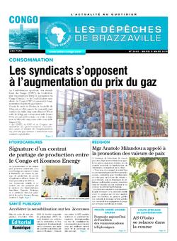 Les Dépêches de Brazzaville : Édition brazzaville du 05 mars 2019