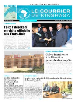 Les Dépêches de Brazzaville : Édition brazzaville du 04 avril 2019
