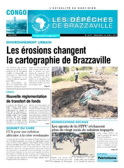 Les Dépêches de Brazzaville : Édition brazzaville du 24 avril 2019