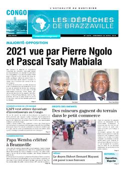 Les Dépêches de Brazzaville : Édition brazzaville du 26 avril 2019