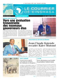 Les Dépêches de Brazzaville : Édition brazzaville du 14 mai 2019