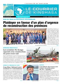 Les Dépêches de Brazzaville : Édition brazzaville du 17 mai 2019