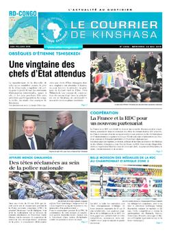 Les Dépêches de Brazzaville : Édition du 6e jour du 25 mai 2019