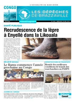 Les Dépêches de Brazzaville : Édition brazzaville du 29 mai 2019