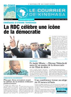 Les Dépêches de Brazzaville : Édition brazzaville du 31 mai 2019