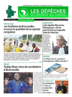 Les Dépêches de Brazzaville : Édition du 6e jour du 01 juin 2019