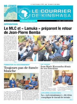 Les Dépêches de Brazzaville : Édition brazzaville du 06 juin 2019