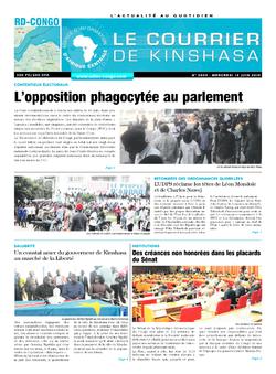 Les Dépêches de Brazzaville : Édition brazzaville du 12 juin 2019
